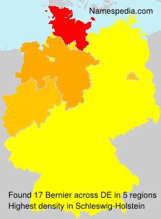 Familiennamen Bernier - Germany