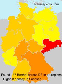 Surname Berthel in Germany