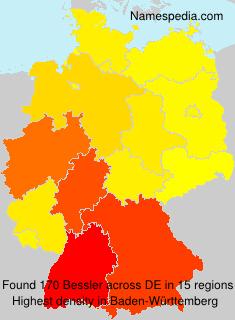 Familiennamen Bessler - Germany