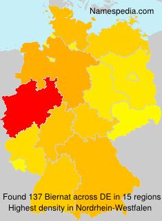 Surname Biernat in Germany