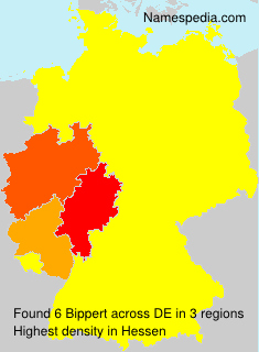 Familiennamen Bippert - Germany