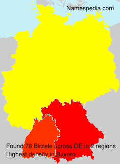 Surname Birzele in Germany