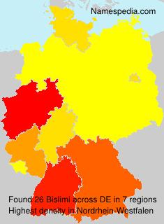 Surname Bislimi in Germany