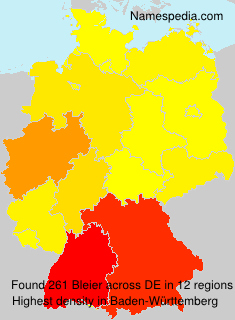 Surname Bleier in Germany