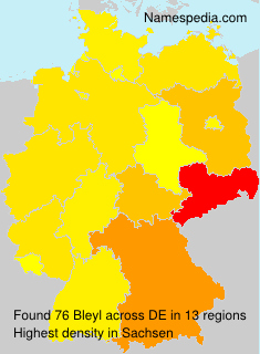 Surname Bleyl in Germany
