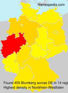 Surname Blumberg in Germany