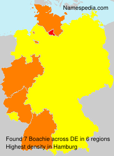 Surname Boachie in Germany