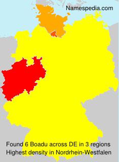 Surname Boadu in Germany