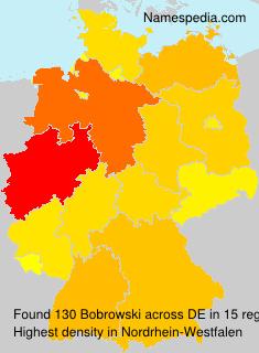 Surname Bobrowski in Germany