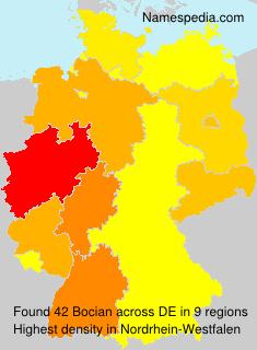 Surname Bocian in Germany