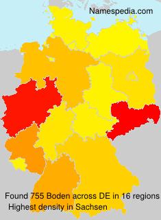Boden statistique et signification for Boden germany