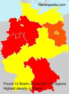 Familiennamen Boehn - Germany