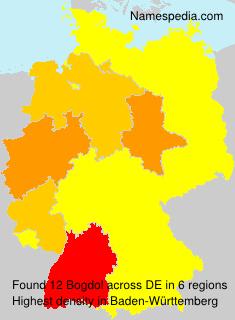 Familiennamen Bogdol - Germany