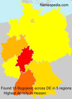 Surname Bogojevic in Germany