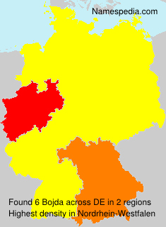 Surname Bojda in Germany