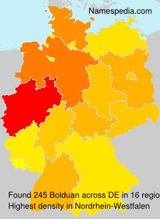 Familiennamen Bolduan - Germany