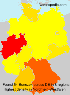 Familiennamen Bonczek - Germany