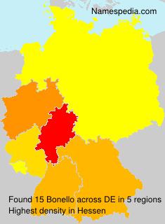 Surname Bonello in Germany