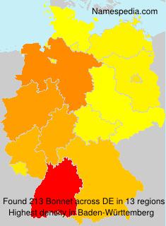 Familiennamen Bonnet - Germany
