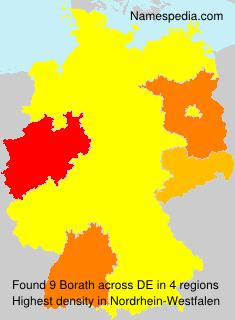 Surname Borath in Germany