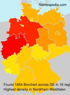Familiennamen Borchert - Germany
