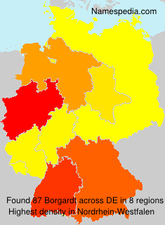 Familiennamen Borgardt - Germany