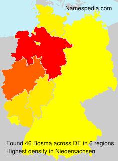 Surname Bosma in Germany