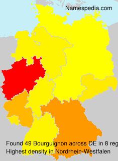 Familiennamen Bourguignon - Germany