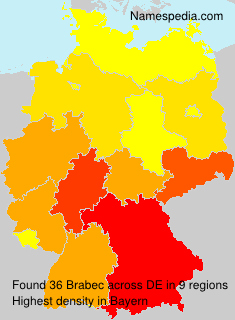 Surname Brabec in Germany