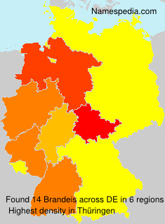 Familiennamen Brandeis - Germany