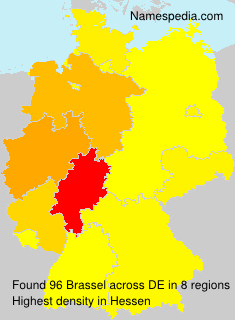 Surname Brassel in Germany