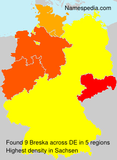 Surname Breska in Germany