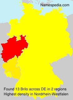 Familiennamen Brilo - Germany