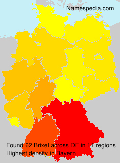 Surname Brixel in Germany