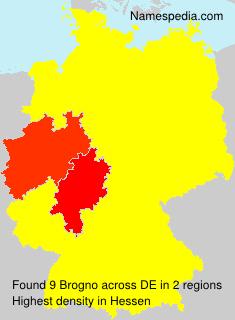 Surname Brogno in Germany