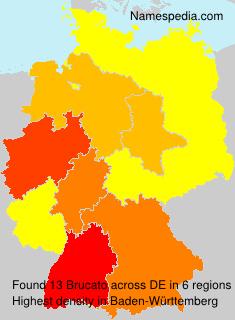 Familiennamen Brucato - Germany