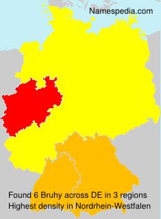 Familiennamen Bruhy - Germany