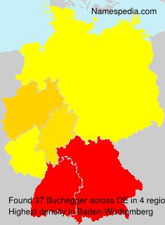 Familiennamen Buchegger - Germany