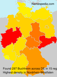Surname Buchheim in Germany