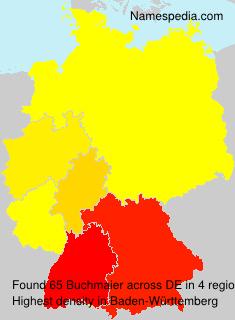 Familiennamen Buchmaier - Germany
