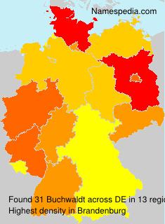 Familiennamen Buchwaldt - Germany