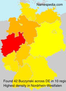 Familiennamen Buczynski - Germany