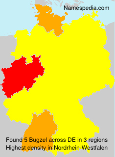 Surname Bugzel in Germany