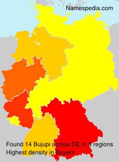Surname Bujupi in Germany