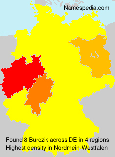 Surname Burczik in Germany