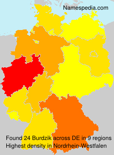 Surname Burdzik in Germany