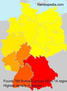 Familiennamen Burkard - Germany
