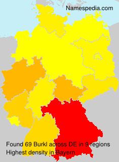 Surname Burkl in Germany