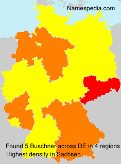 Familiennamen Buschner - Germany