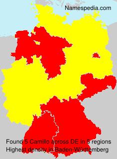 Surname Camillo in Germany